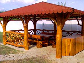 case din lemn mobilier de gradina din lemn hotel invest