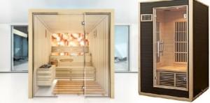 Sauna finlandeza si sauna cu infrarosu