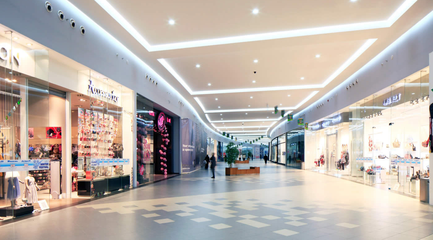 spatii moderne de retail